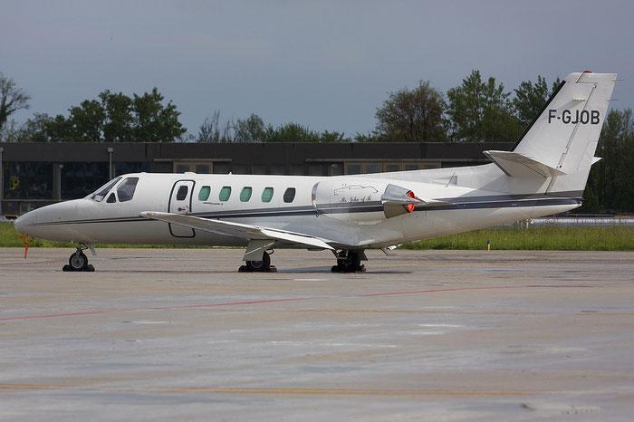 F-GJOB Ce551 551-0174/144 Brisson 3 SA @ Treviso Airport 20.04.2012 © Piti Spotter Club Verona