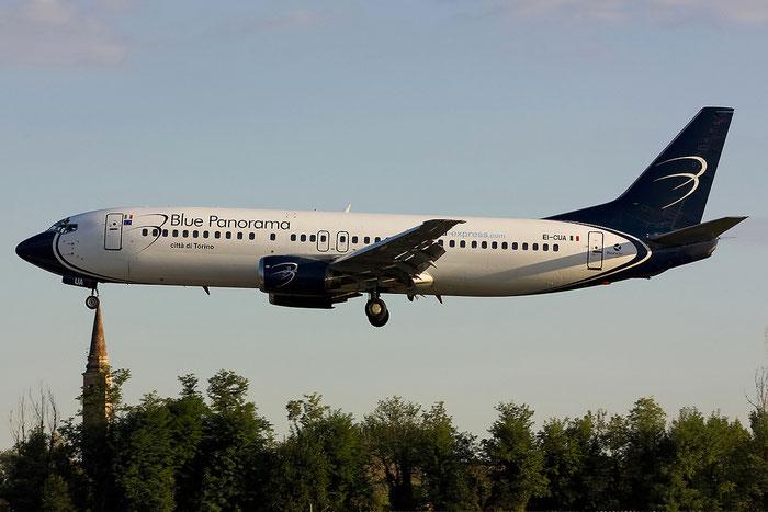 EI-CUA B737-4K5 24901/1854 Blue Panorama Airlines @ Treviso Airport 15.09.2012 © Piti Spotter Club Verona