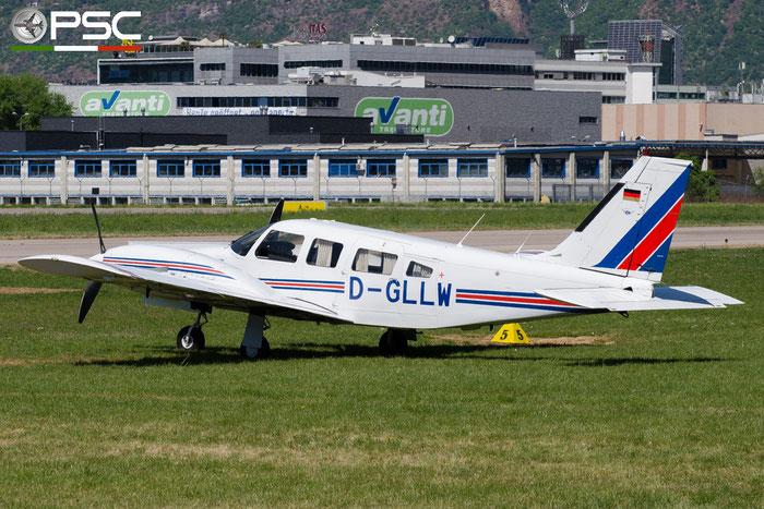 D-GLLW - Private Piper PA-34 Seneca @ Aeroporto di Bolzano © Piti Spotter Club Verona