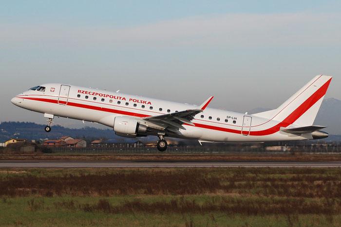 Embraer 170/175 - MSN 288 - SP-LIH @ Aeroporto di Verona © Piti Spotter Club Verona