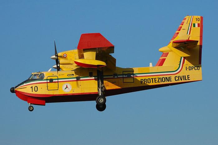 I-DPCO Inaer Canadair CL-415 @ Brescia Airport 2008 © Piti Spotter Club Verona