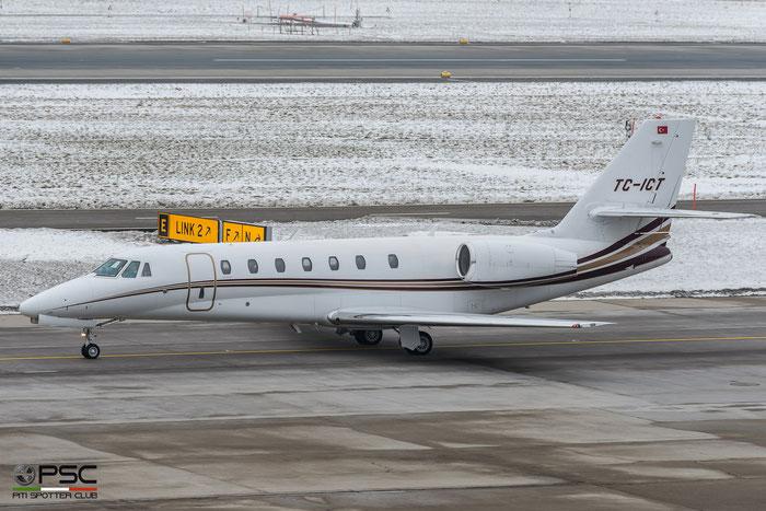 TC-ICT Ce680 680-0290 EMAir @ Zurich Airport 21.01.2017 © Piti Spotter Club Verona