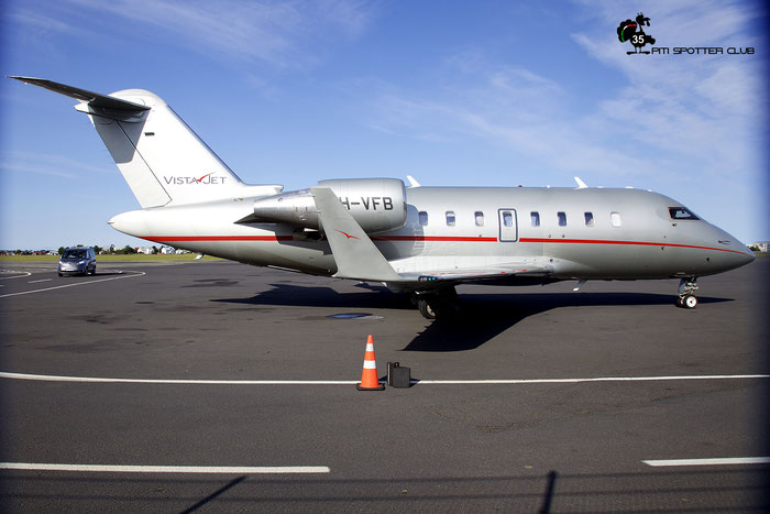 9H-VFB  CL-605  5971  VistaJet Malta  @ Reykjavik 08.2019 © Piti Spotter Club Verona