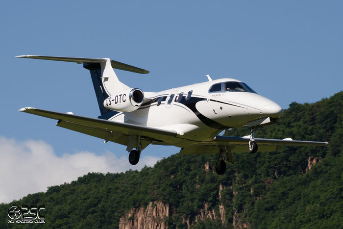 CS-DTC EMB500 50000115 Helibravo Ltda. @ Aeroporto di Bolzano © Piti Spotter Club Verona