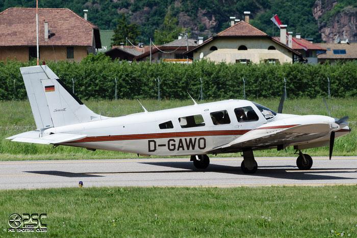 D-GAWO Piper PA-34-220T Seneca III PA34 3433038 @ Aeroporto di Bolzano © Piti Spotter Club Verona