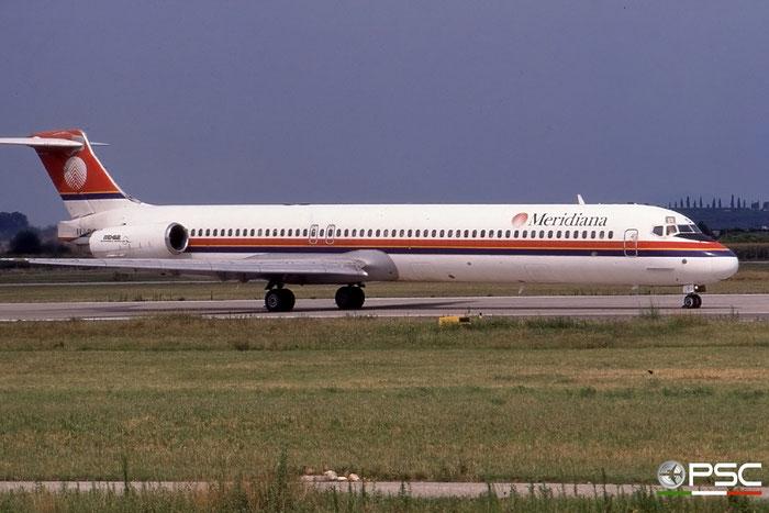 I-SMES  MD-82  49902/1948  Meridiana  @ Aeroporto di Verona © Piti Spotter Club Verona