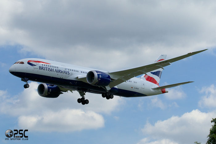 G-ZBJE B787-8 38612/173 British Airways @ London Heathrow Airport 12.06.2014 © Piti Spotter Club Verona