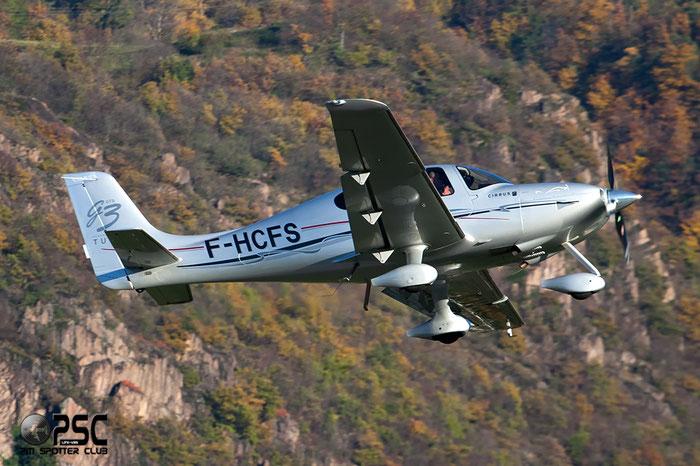 F-HCFS Cirrus Design Corp SR-22 SR22 2622 Sud Air Aixoise de Location SARL @ Aeroporto di Trento © Piti Spotter Club Verona