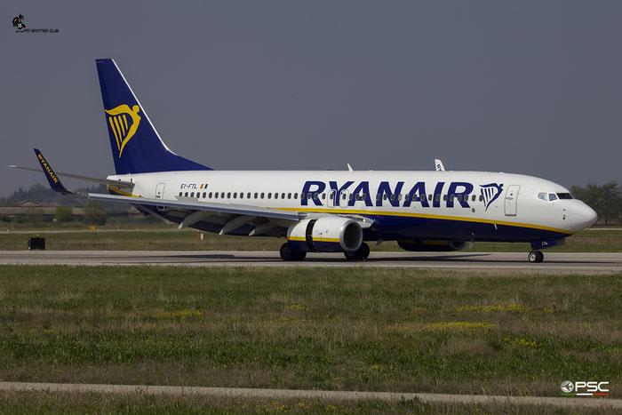 EI-FTL B737-800 44762/6234 Ryanair @ Aeroporto di Verona 09.04.2017  © Piti Spotter Club Verona