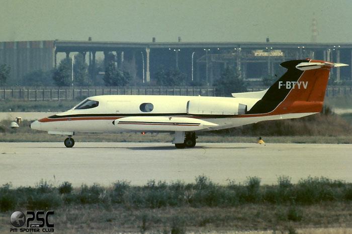 F-BTVY - Gates Lear Jet 24B-A C/N 206 @ Aeroporto di Verona © Piti Spotter Club Verona