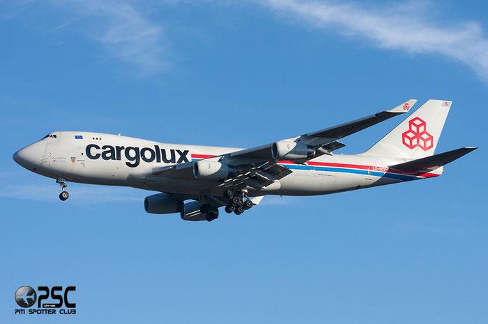LX-VCV B747-4R7F 34235/1366 Cargolux @ Milano Malpensa Airport 27.12.2013 © Piti Spotter Club Verona