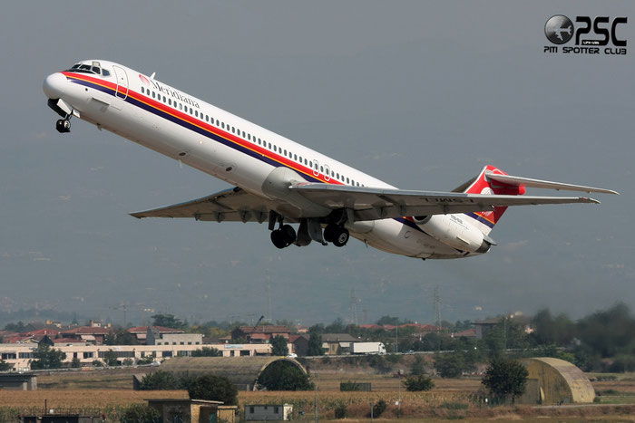 I-SMEL  MD-82  49247/1151  Meridiana  @ Aeroporto di Verona © Piti Spotter Club Verona