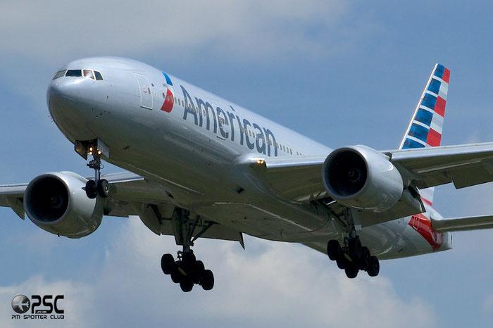 N797AN B777-223ER 30012/321 American Airlines @ London Heathrow Airport 12.06.2014 © Piti Spotter Club Verona