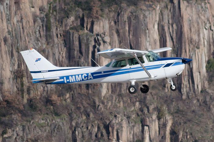 I-MMCA - Cessna 172 Skyhawk - Private @ Aeroporto di Bolzano © Piti Spotter Club Verona