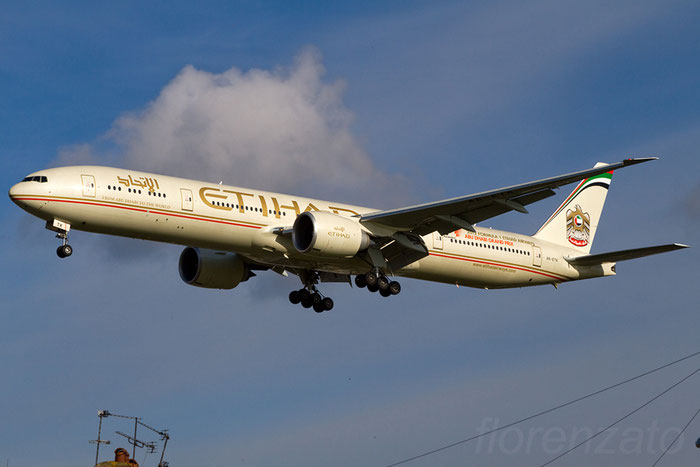 A6-ETK B777-3FXER 39686/1019 Etihad Airways @ London Heathrow Airport 08.02.2013 © Piti Spotter Club Verona