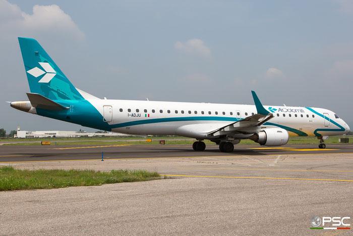 I-ADJU ERJ195LR 19000290 Air Dolomiti @ Aeroporto di Verona 09.06.2018  © Piti Spotter Club Verona