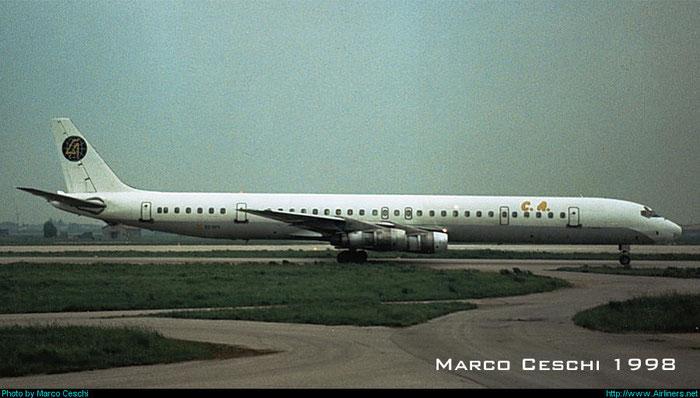 EC-DYY  DC-8-61  45888/290  Canafrica Transportes Aéreos  @ Aeroporto di Verona © Piti Spotter Club Verona