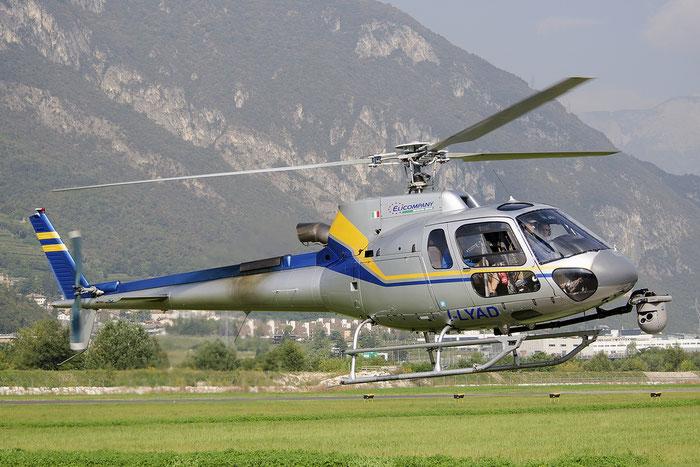 I-LYAD - Elicompany Eurocopter AS-350B-3 Ecureuil @ Aeroporto di Trento © Piti Spotter Club Verona
