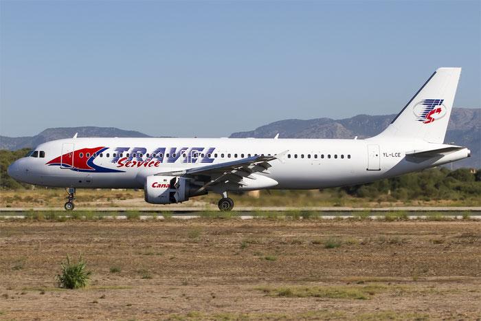 YL-LCE A320-211 311 SmartLynx @ Palma del Mallorca Airport 07.2014 © Piti Spotter Club Verona