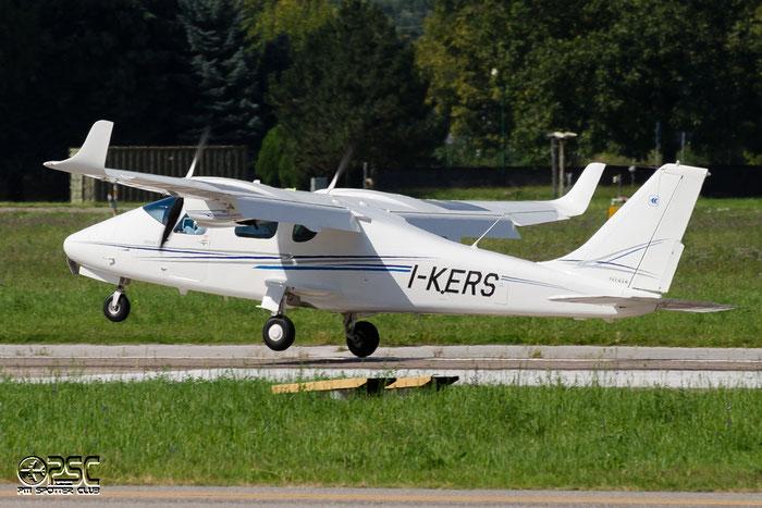 I-KERS Private Tecnam P2006T @ Aeroporto di Bolzano © Piti Spotter Club Verona