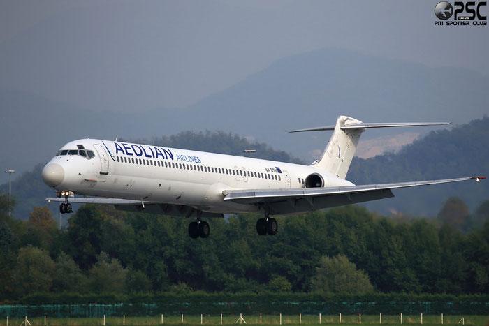 SX-BTM MD-83 49627/1580 Aeolian Airlines @ Bergamo Airport 22.09.2013 © Piti Spotter Club Verona