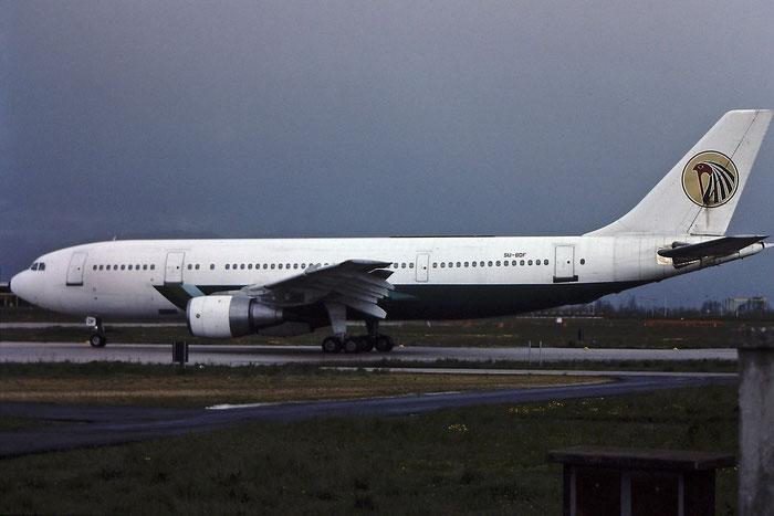 SU-BDF A300B4-203 199 EgyptAir @ Aeroporto di Verona © Piti Spotter Club Verona