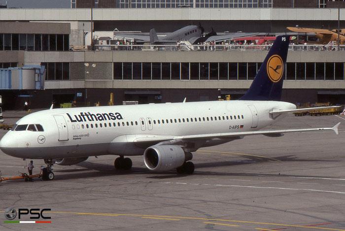 D-AIPS A320-211 116 Lufthansa © 2018 courtesy of Marco Ceschi - Piti Spotter Club Verona