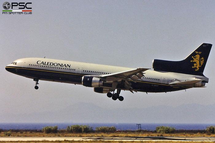 G-BBAF L-1011-100 193N-1093 Caledonian Airways © Piti Spotter Club Verona