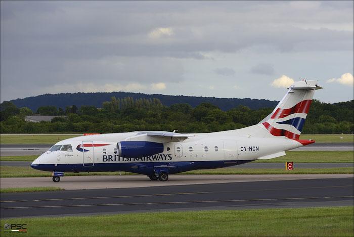 OY-NCN Do328-310 3193 Sun-Air of Scandinavia @ Manchester Airport 21.06.2015 © Piti Spotter Club Verona