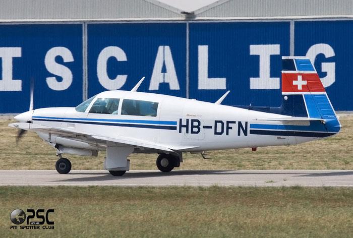 HB-DFN Mooney M-20J 201 M20P 24-0801 @ Aeroporto Verona Boscomantico © Piti Spotter Club Verona