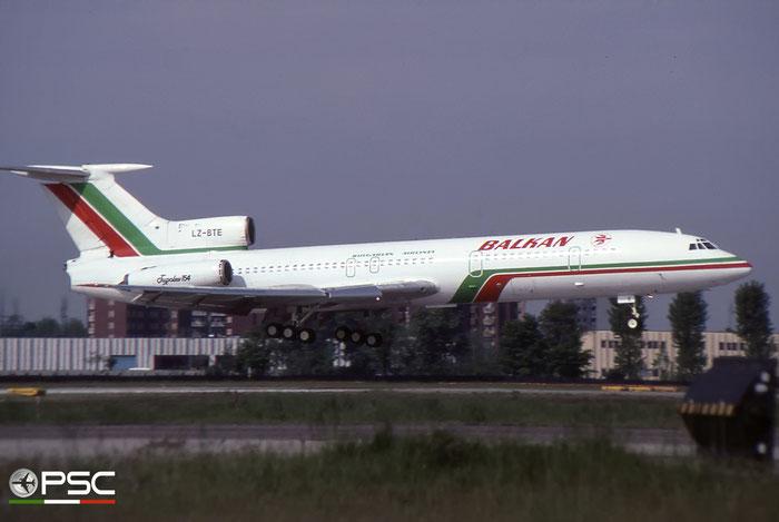 LZ-BTE - 74A073 Tu-154A LZ-BTE Balkan © 2018 courtesy of Marco Ceschi - Piti Spotter Club Verona