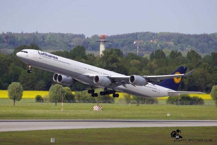 D-AIHA A340-642 482 Lufthansa @ Frankfurt Airport 15.05.2016 © Piti Spotter Club Verona