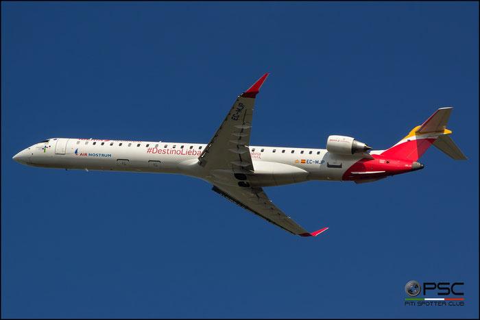 EC-MJP CRJ1000 19046 Air Nostrum @ Bologna Airport 31.10.2016 © Piti Spotter Club Verona