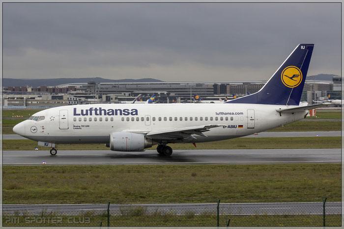 D-ABIU B737-530 24944/2051 Lufthansa @ Frankfurt Airport 22.10.2014 © Piti Spotter Club Verona