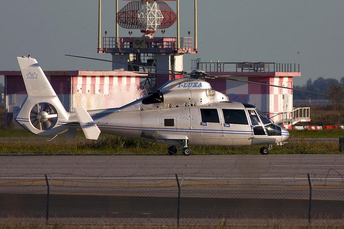 I-LUXA Eurocopter AS365N3 Dauphin 2 ( c/n 6624 ) - mfg: 2003 @ Venezia Airport 07.11.2012 © Piti Spotter Club Verona