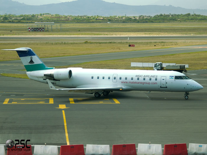 ZS-NMJ CRJ200ER 7161 MGC Airlines (Matekane Air) @ Cape Town Airport 22.03.2014 © Piti Spotter Club Verona