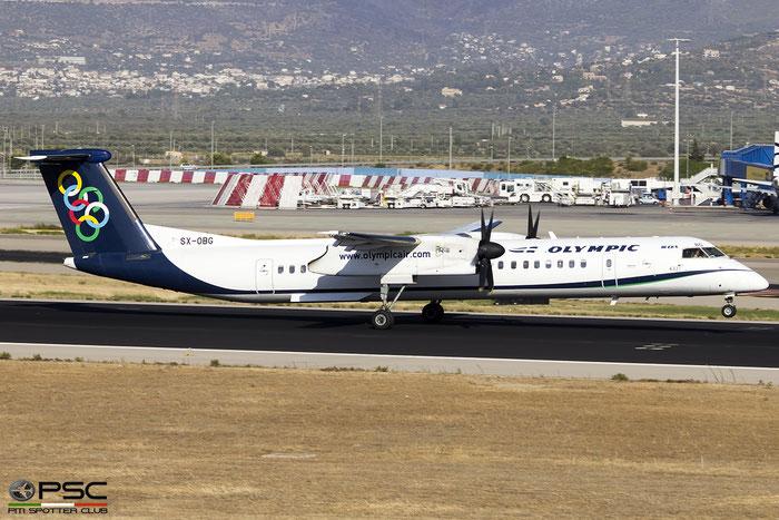SX-OBG  DHC-8-402  4321  Olympic Air @ Athens 2019 © Piti Spotter Club Verona