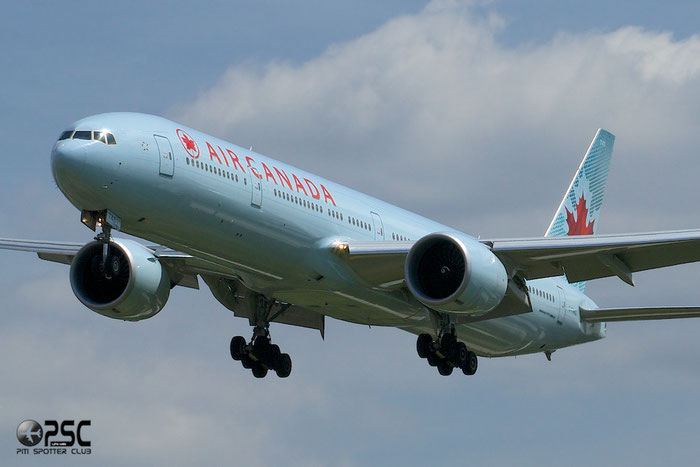 C-FNNQ B777-333ER 43251/1154 Air Canada @ London Heathrow Airport 12.06.2014 © Piti Spotter Club Verona