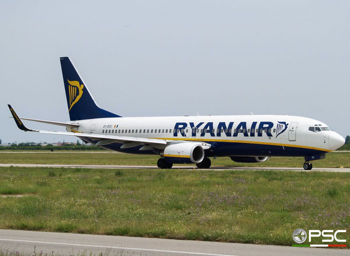 EI-DCC B737-8AS 33561/1463 Ryanair @ Aeroporto di Verona 30.06.2007  © Piti Spotter Club Verona