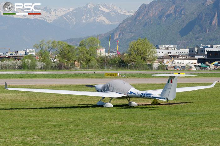 I-RAFE Diamond HK-36TTC Super Dimona 115 (c/n 36.801) @ Aeroporto di Bolzano © Piti Spotter Club Verona