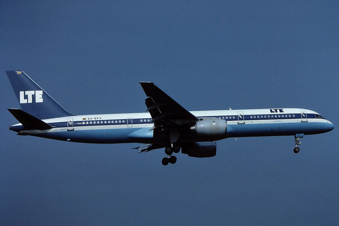 EC-EFX B757-2G5 23118/36 LTE International Airways @ Aeroporto di Verona - © Piti Spotter Club Verona
