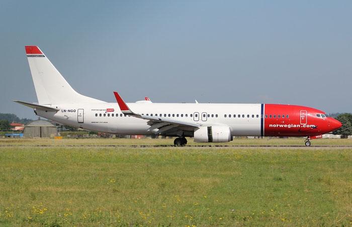 LN-NGQ B737-8JP 39027/4729 Norwegian @ Aeroporto di Verona 10.06.2018  © Piti Spotter Club Verona