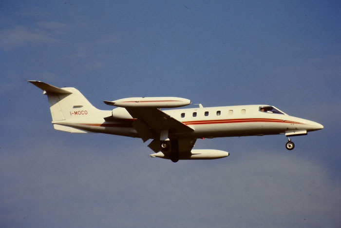 I-MOCO  Learjet 35A  35A-445  Private @ Aeroporto di Verona © Piti Spotter Club Verona