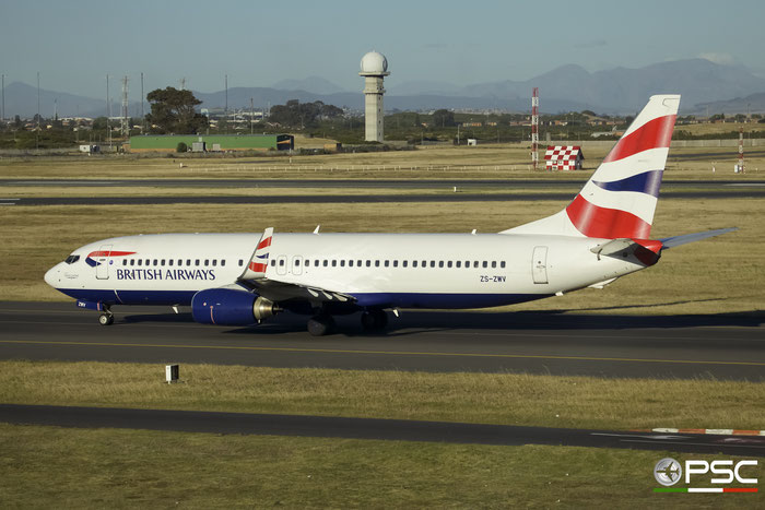 ZS-ZWV B737-8K5 30414/703 Comair - Commercial Airways @ Cape Town International Airport 24.11.2017 © Piti Spotter Club Verona