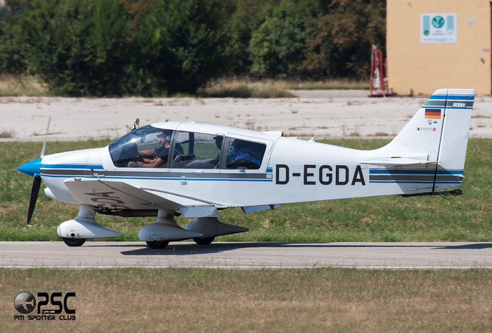 D-EGDA Robin DR-400/180 Regent DR40 2293 @ Aeroporto Verona Boscomantico © Piti Spotter Club Verona