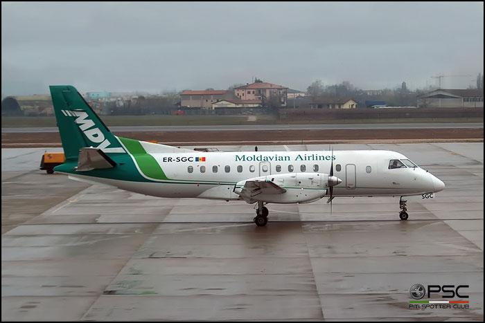 ER-SGC Saab 340B 340B-160 Moldavian Airlines @ Aeroporto di Verona © Piti Spotter Club Verona