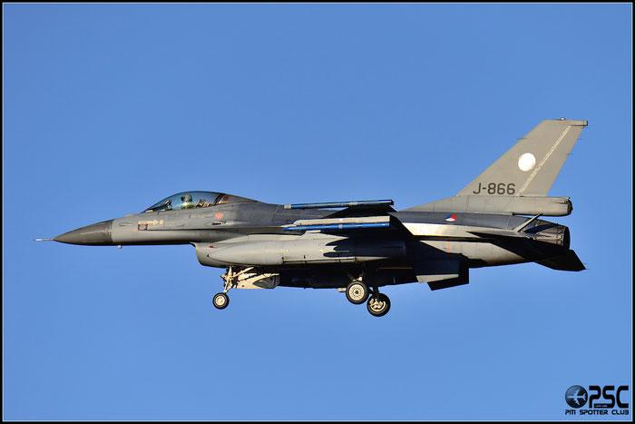 J-866   F-16AM  6D-83  Breda © Piti Spotter Club Verona