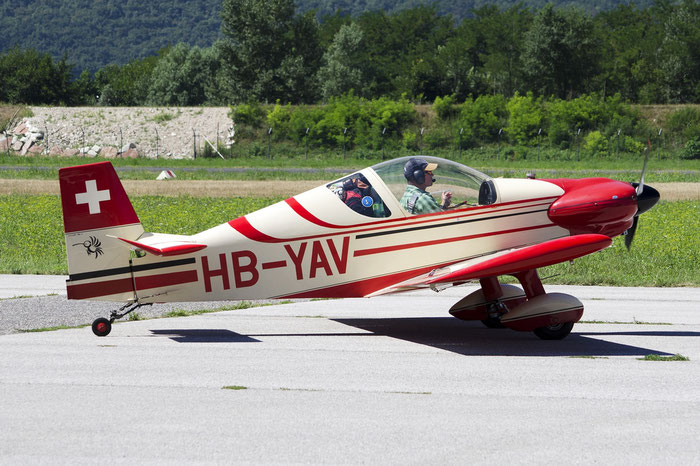 HB-YAV (any manufacturer) Microlight aircraft @ Aeroporto di Trento © Piti Spotter Club Verona