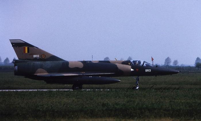 BR13   Mirage 5BR  313 @ Aeroporto di Verona © Piti Spotter Club Verona