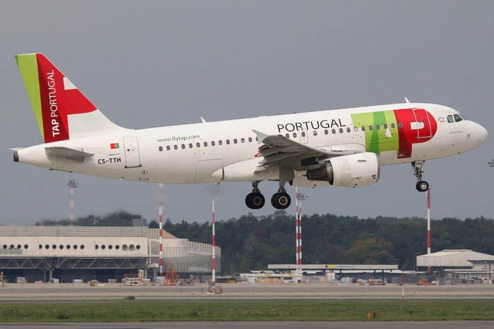 CS-TTH A319-111 917 TAP Portugal - Transportes Aéreos Portugueses @ Milano Malpensa Airport 31.08.2014 © Piti Spotter Club Verona